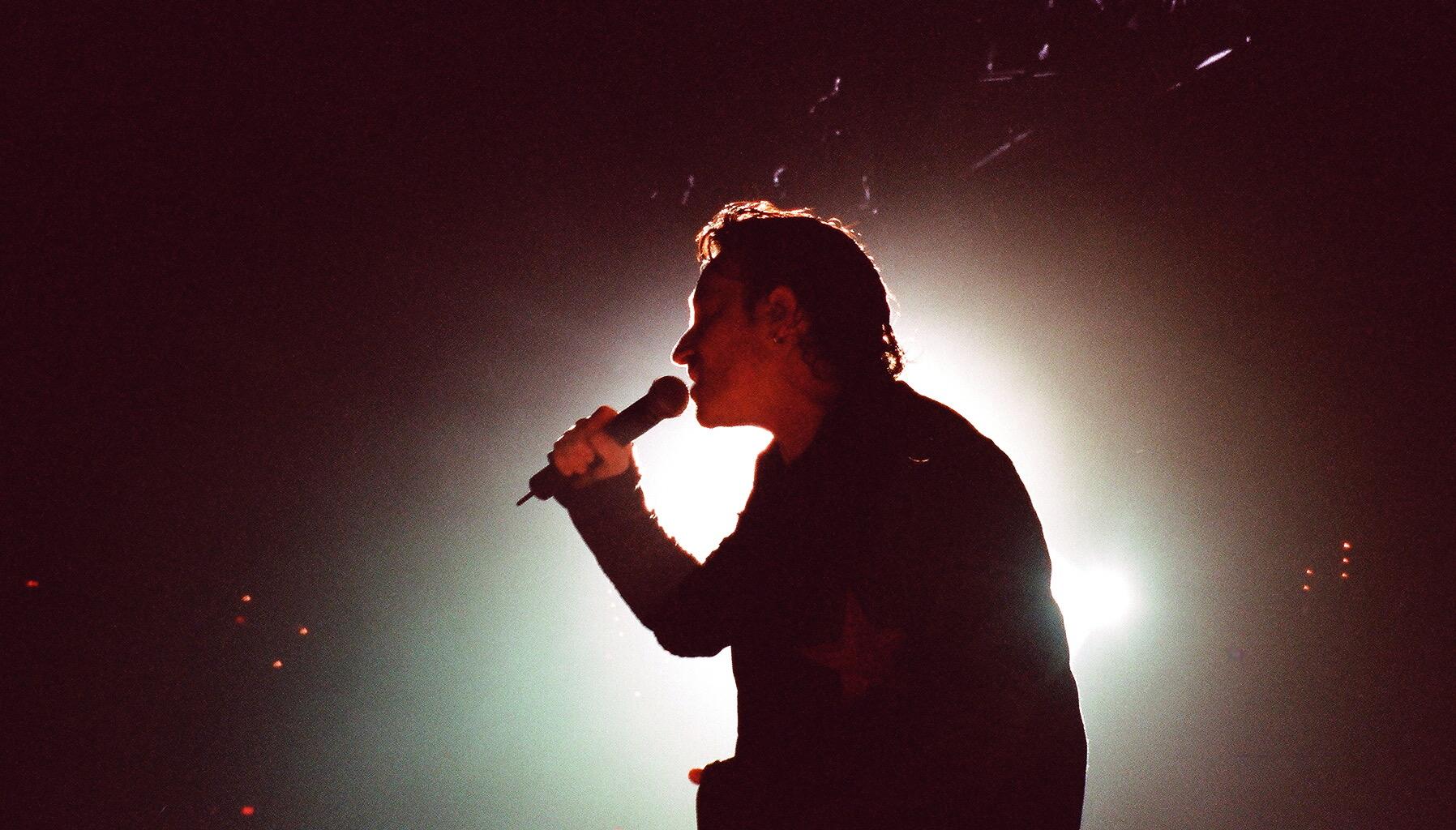 Bono on the Elevation Tour
