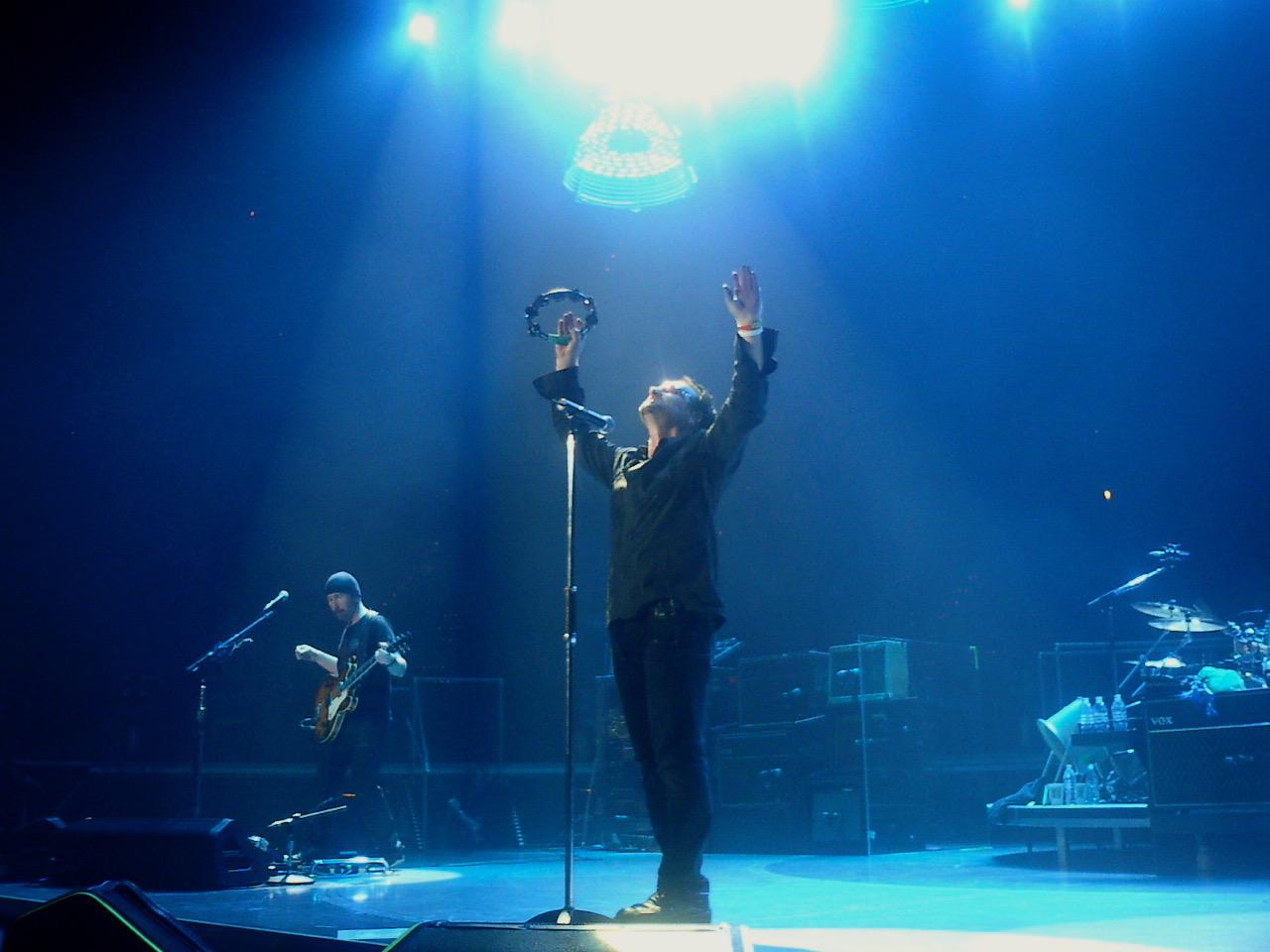 Bono live in concert