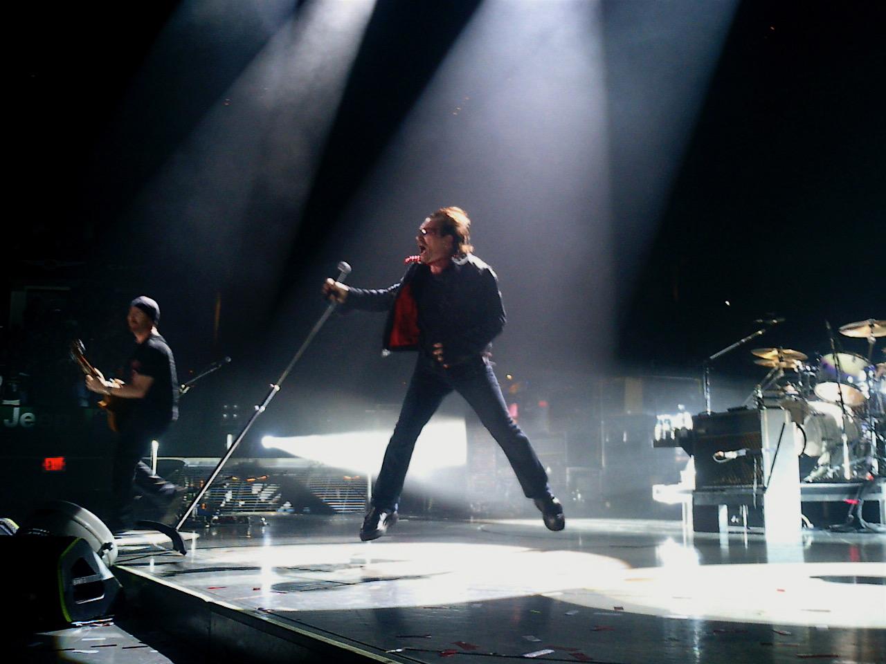Bono on U2's Vertigo tour