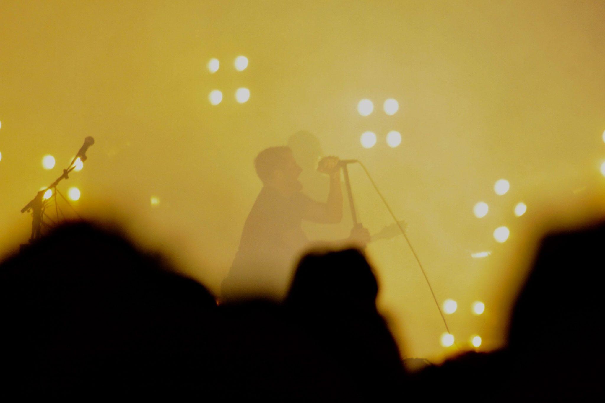 Trent Reznor live onstage