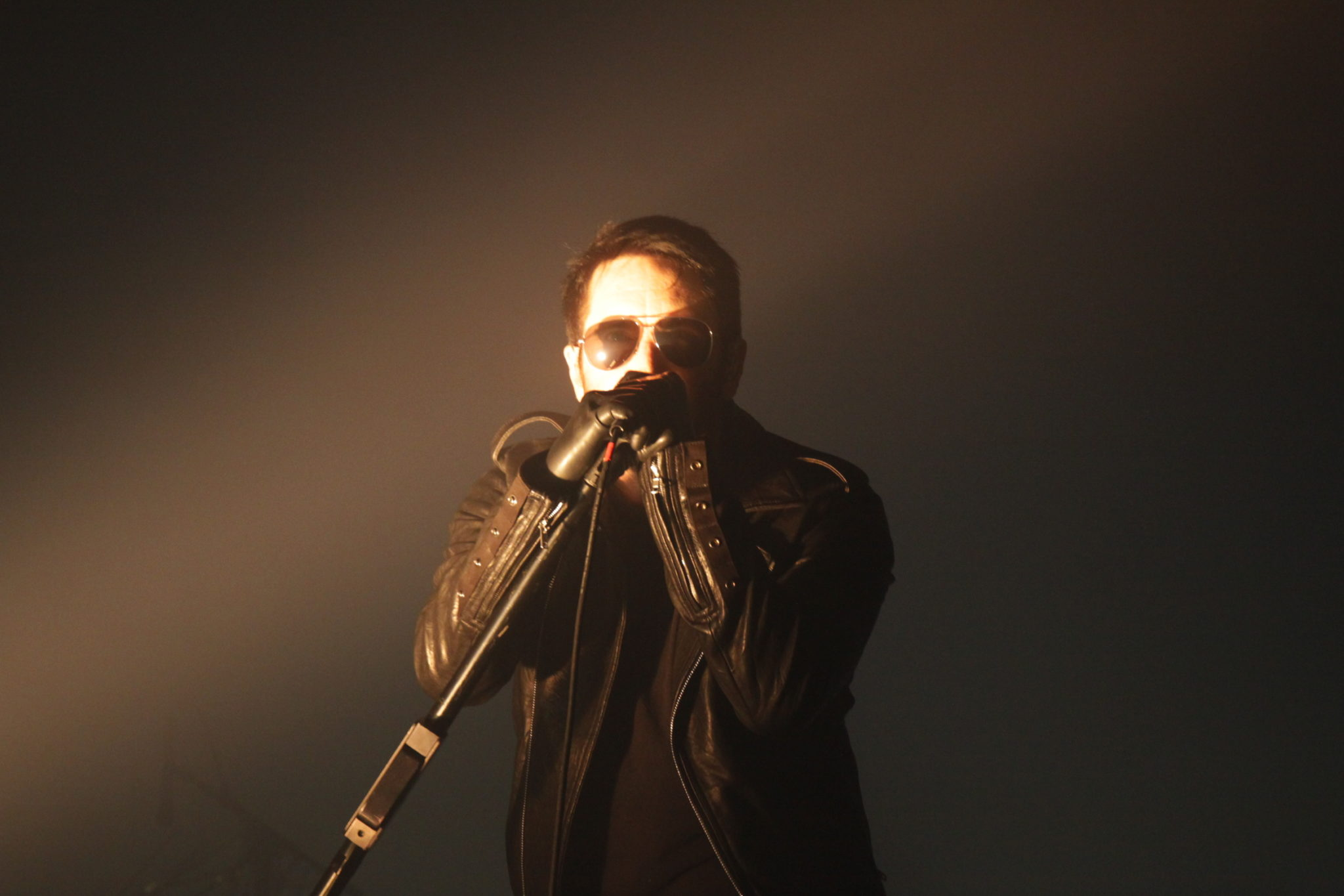 Trent Reznor liveonstage