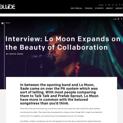 Lo Moon Interview