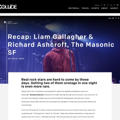 Liam Gallagher Review